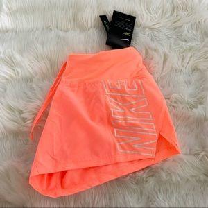 🌸 NIKE Dri Fit Running Shorts Gym Pants NWT Neon